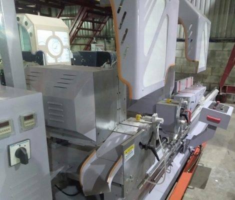 máy cắt nhôm 2 đầu công nghệ ý6