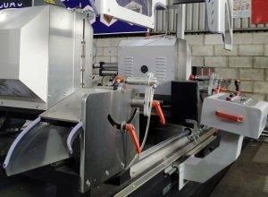 máy cắt nhôm 2 đầu công nghệ ý7