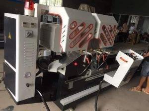 máy cắt nhôm 2 đầu 08s cao cấp 3kw6